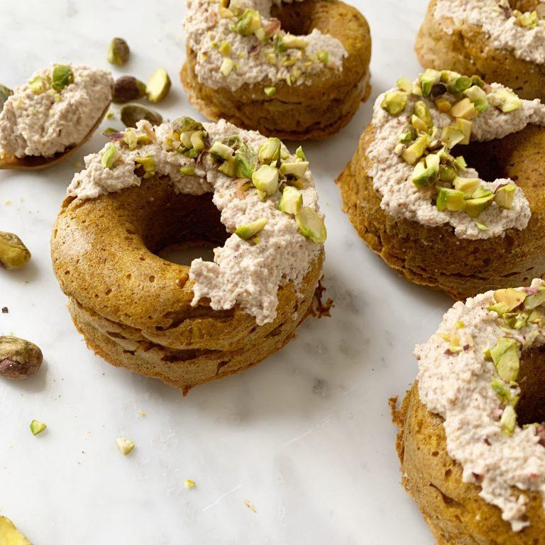 gezonde pompoen donuts