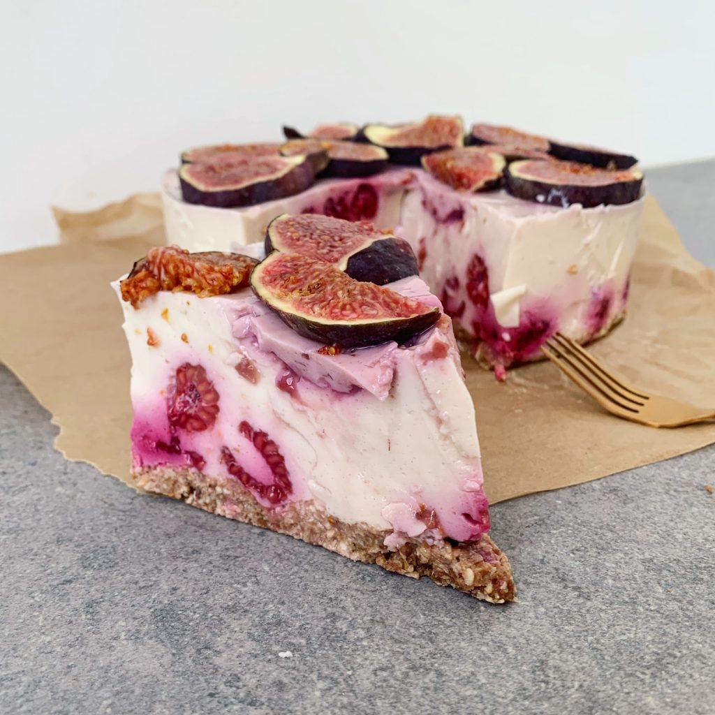 cheesecake met framboos