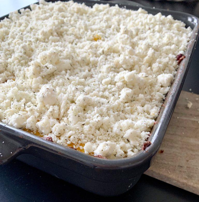 gezonde ovenschotel met pompoen
