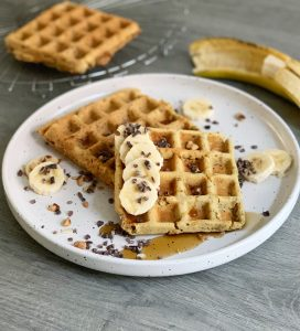 vegan wafel recept