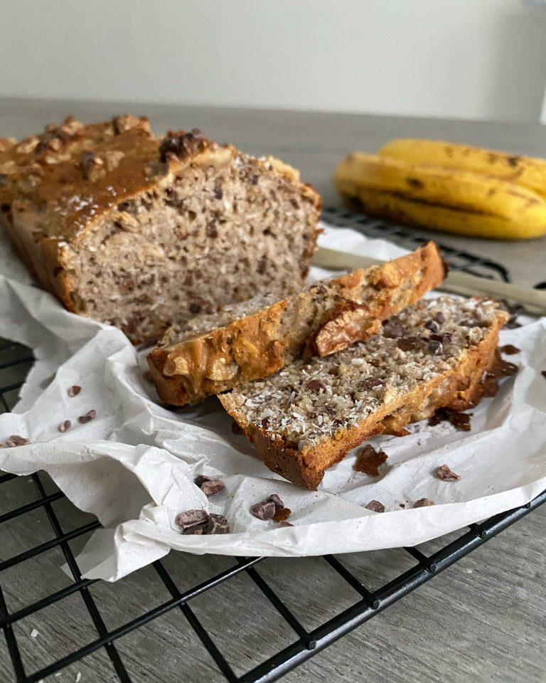 bananenbrood met cacaonibs