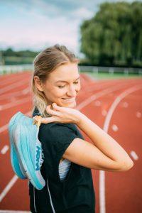 sneller lopen met wedstrijdschoenen