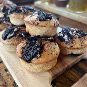 oreo muffins recept gemakkelijk banaan
